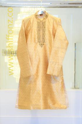 Banarsi gold mens suit