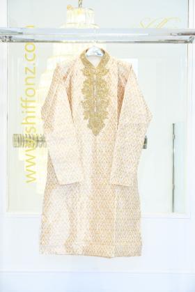 Banarsi cream mens wear