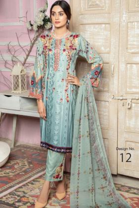 I love Simran's 3 piece linen casual suit in grey