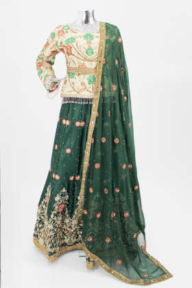 IVANA luxury embroidered lehnga suit